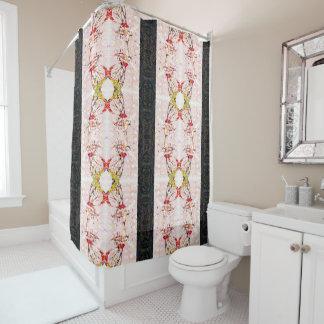 Colorful Monarch Mandala Shower Curtain