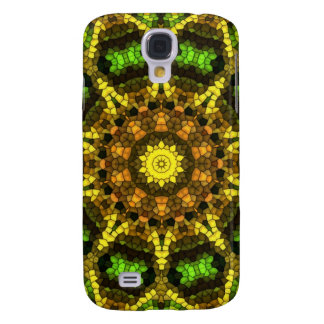 Colorful mosaic galaxy s4 case