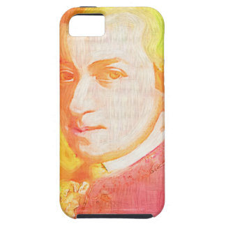 Colorful Mozart iPhone 5 Case