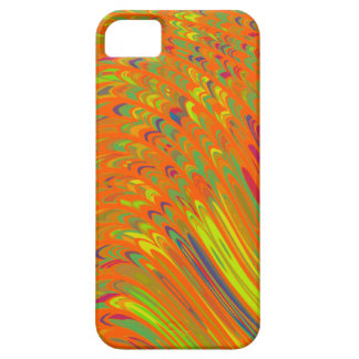Colorful Orange Abstract Art iPhone 5 Case