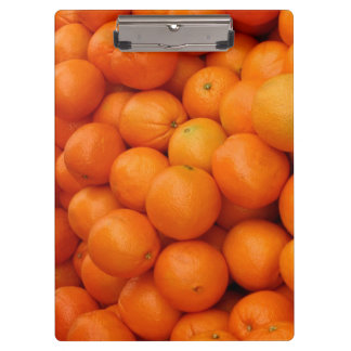COLORFUL ORANGES CLIPBOARDS