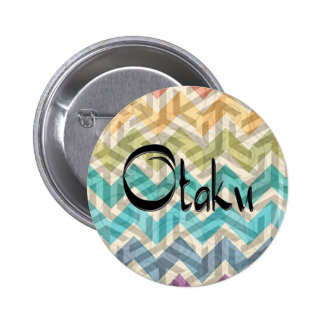 Colorful Otaku 6 Cm Round Badge
