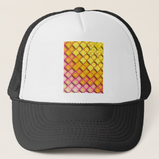 """Colorful Pattern Creation """"Athena"""" Trucker Hat"""