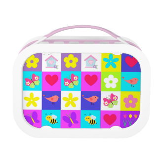 colorful pattern design lunch box