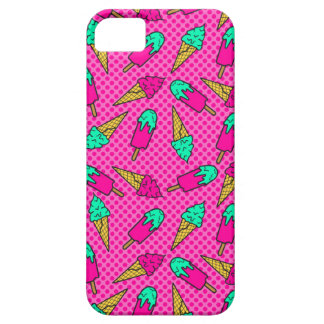 Colorful pattern of ice cream in pop art style iPhone 5 cover