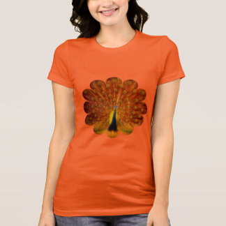 Colorful Peacock - Women's T-Shirt