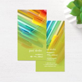 Colorful Pens/Designer Business Card