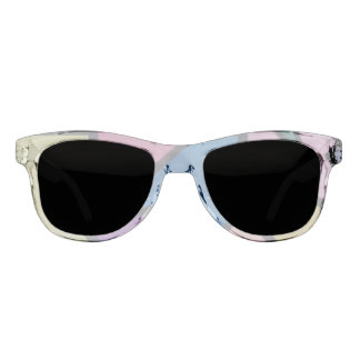 Colorful pieces sunglasses