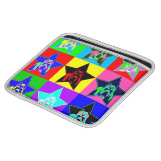 Colorful Pit Bull I Pad Case Slim Protective Sleeves For iPads