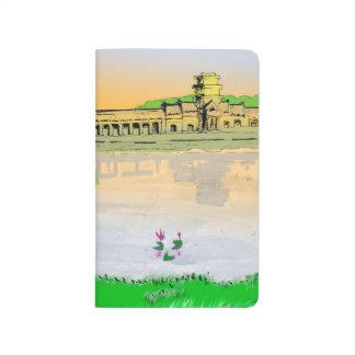 Colorful pocket notebook Angkor Wat Sunset Journals