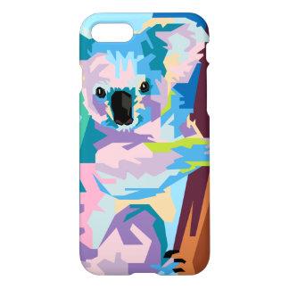 Colorful Pop Art Koala Portrait iPhone 8/7 Case