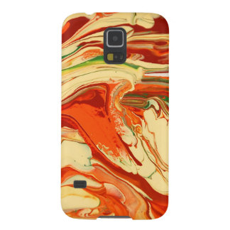 Colorful psychedelic swirl design galaxy s5 case