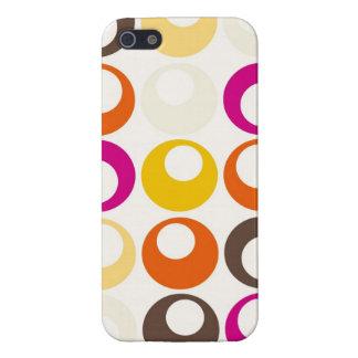 Colorful Purple Orange Yellow Peach Circles Balls iPhone 5 Covers