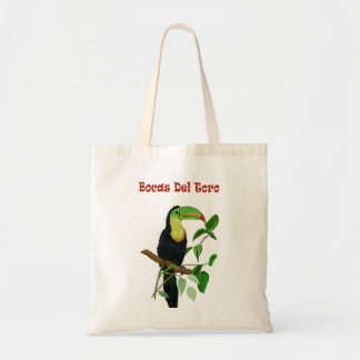 Colorful Rain Forest Toucan Tote Bag