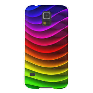Colorful Rainbow Galaxy S5 Cover