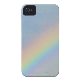 Colorful Rainbow in Blue Sky, Photo iPhone 4 Cover