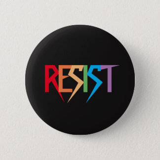 Colorful Rainbow Resist Button