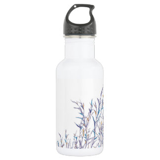 Colorful Reeds Water Bottle