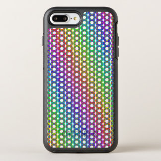 Colorful retro circles OtterBox symmetry iPhone 8 plus/7 plus case