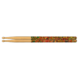 Colorful Retro Spots + your idea Drumsticks