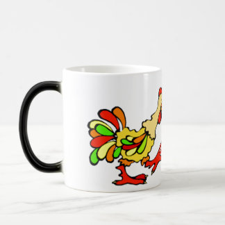 Colorful Rooster Coffee Mugs
