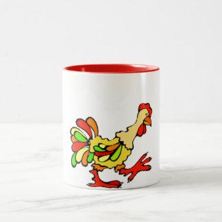 Colorful Rooster Mug