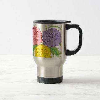 Colorful Roses and Vines Mug