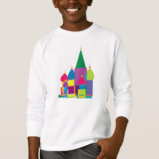 Colorful Russian Orthodox Church T-Shirt