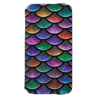 Colorful Scales Case Incipio Watson™ iPhone 6 Wallet Case