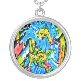 Colorful Sea Dragon Necklace