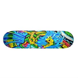 Colorful Sea Dragon Skateboard