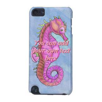 Colorful Sea Horse iPod Case
