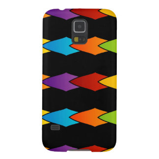 Colorful shape artwork galaxy s5 cases
