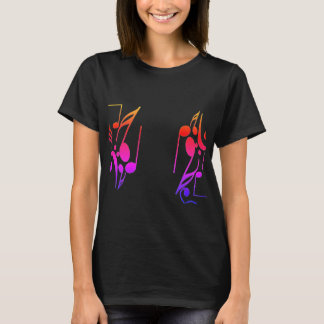 Colorful Sheet Music T-Shirt