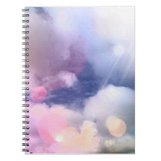 Colorful Sky Notebook (80 Pages B&W)