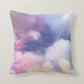 """Colorful Sky Polyester Throw Pillow 16"""" x 16"""""""