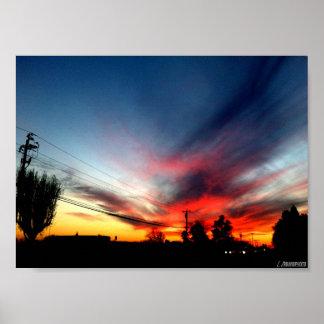 Colorful Sky Shot Print