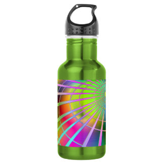 Colorful Spiral 532 Ml Water Bottle