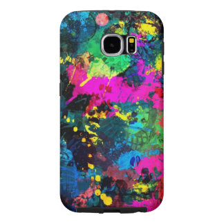 colorful spots samsung galaxy s6 cases