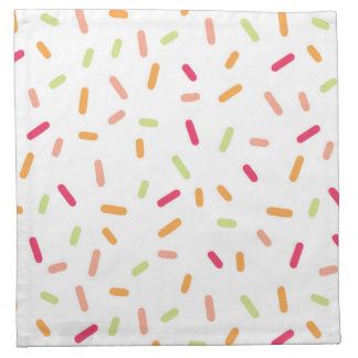 Colorful Sprinkles Napkin