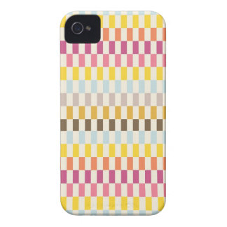 Colorful Squares Tiles Blue Yellow Orange Pink iPhone 4 Case-Mate Cases