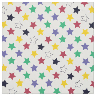 Colorful stars for diy decoration fabric