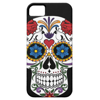 Colorful Sugar Skull Barely There iPhone 5 Case