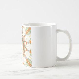 Colorful Symmetrical Star Coffee Mug