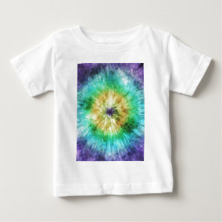 Colorful Tie Dye Graphic Tee Shirt