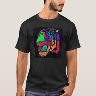 Colorful Tiger T-shirt