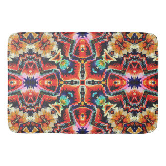 Colorful Tribal Pattern Bath Mats