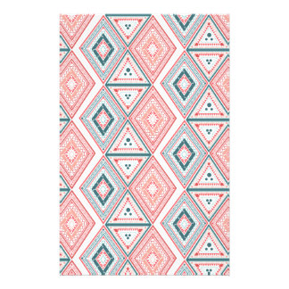 Colorful Tribal Pattern Stationery