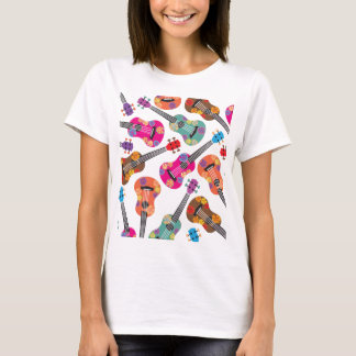 Colorful Ukeleles T-Shirt