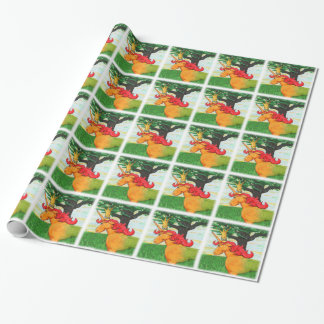 Colorful Unicorn Wrapping Paper